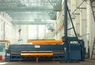 Vierwalzen Rundbiegemaschine Vierwalzen Einrollmaschine 8m