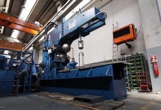 Boerdelmaschine zur Boedenfertigung 30mm