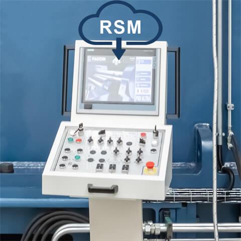 Faccin: Control Numérico Computarizado Siemens conectado a la nube para el Sistema de Gestión de Servicio Remoto