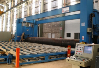 Pipe bending machine 12m