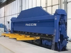 Faccin Shipbuilding Plate Roll RP and aerospace industries