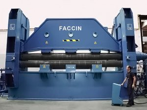 Faccin Plate Roll for Shipbuilding and aerospace industries