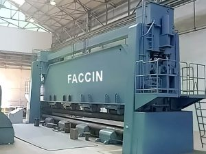 Faccin Plate Roll for Shipbuilding and aerospace industries Series RP