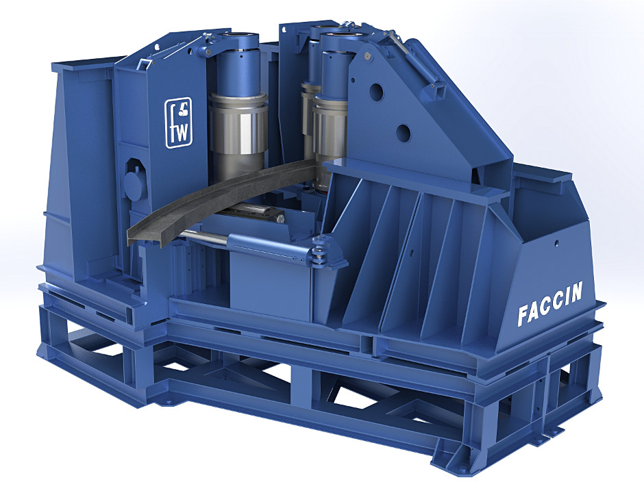 Section rolling machine Taurus by Faccin