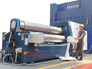 Faccin 3 Roll Variable Geometry Bending Roll HAV