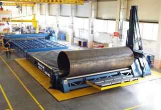 4 rolls plate roll 6 meters