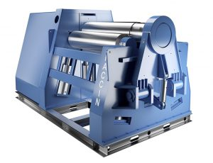 Faccin's 4HEL roll plate bending machine