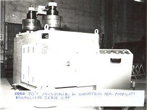 Faccin Roll Bending Machine