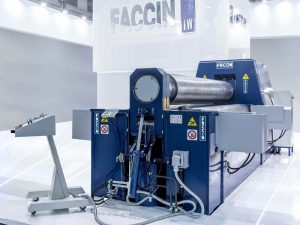 Faccin 3 Roll Variable Geometry Plate Bending Roll HAV
