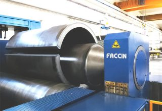 Faccin 3 Roll Variable Geometry Plate Bending Roll HAV for thick plates