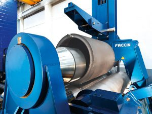 Faccin 4 Rolls Plate Bending Machine 4HEL for thick plates