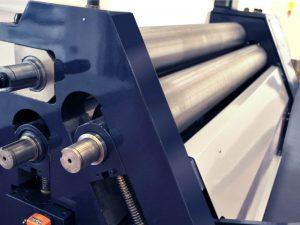Faccin - 3 roll bending machine - Initial Pinch Plate Roll ASI