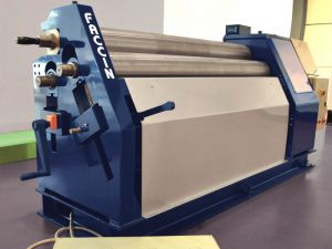 Faccin - 3 roll bending machine - Initial Pinch Plate Roll ASI with foot control