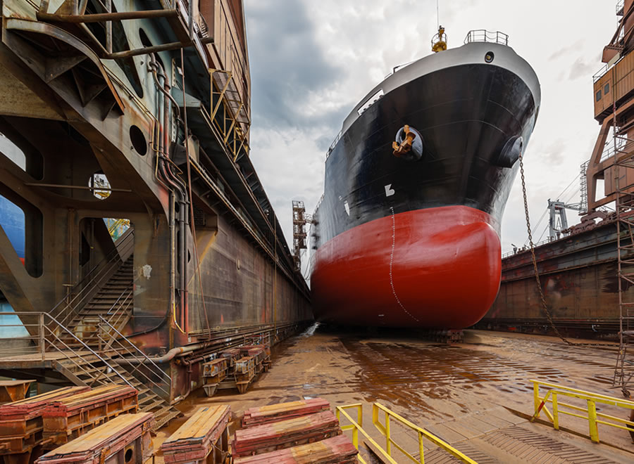 Faccin Bending roll for Shipbuilding