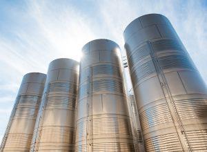 Faccin bending roll for silos