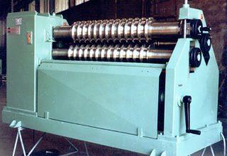 Asimmetric plate rolls