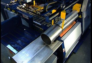 Automatic plate rolls