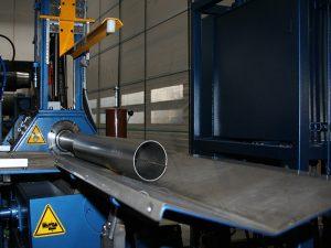 Faccin automatic plate rolls pipe