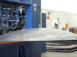 Faccin Hydroforming Press PPH for production of dished ends