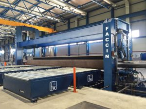 Faccin Long Plate Roll HAV-2P for pipes production