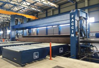 Faccin Long Plate Roll HAV 2P for pipes production