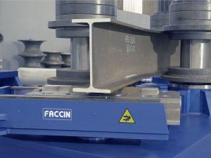 Faccin angle roll bending big profiles