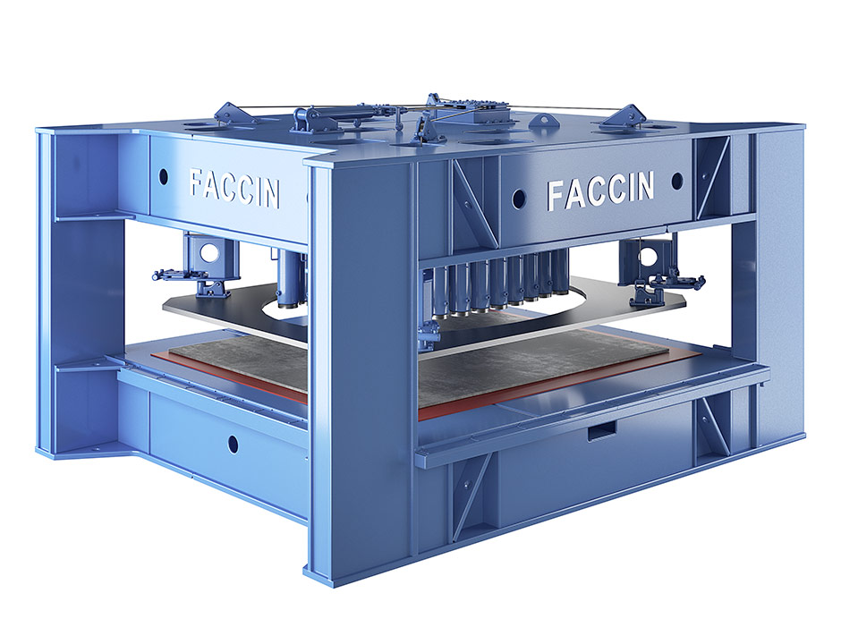Faccin: hydroforming press PPH