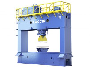 Faccin pps shipbuilding hydraulic portal press