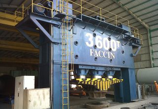 Dished ends presses 3600 Tons