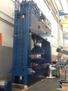 Faccin shipbuilding presses PPS