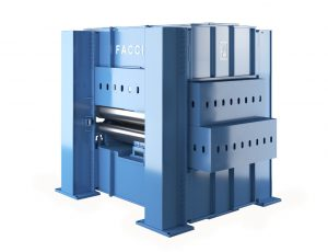 Faccin Plate Leveller or Straightening Machine