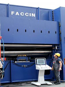 Faccin Plate Leveller With Operator
