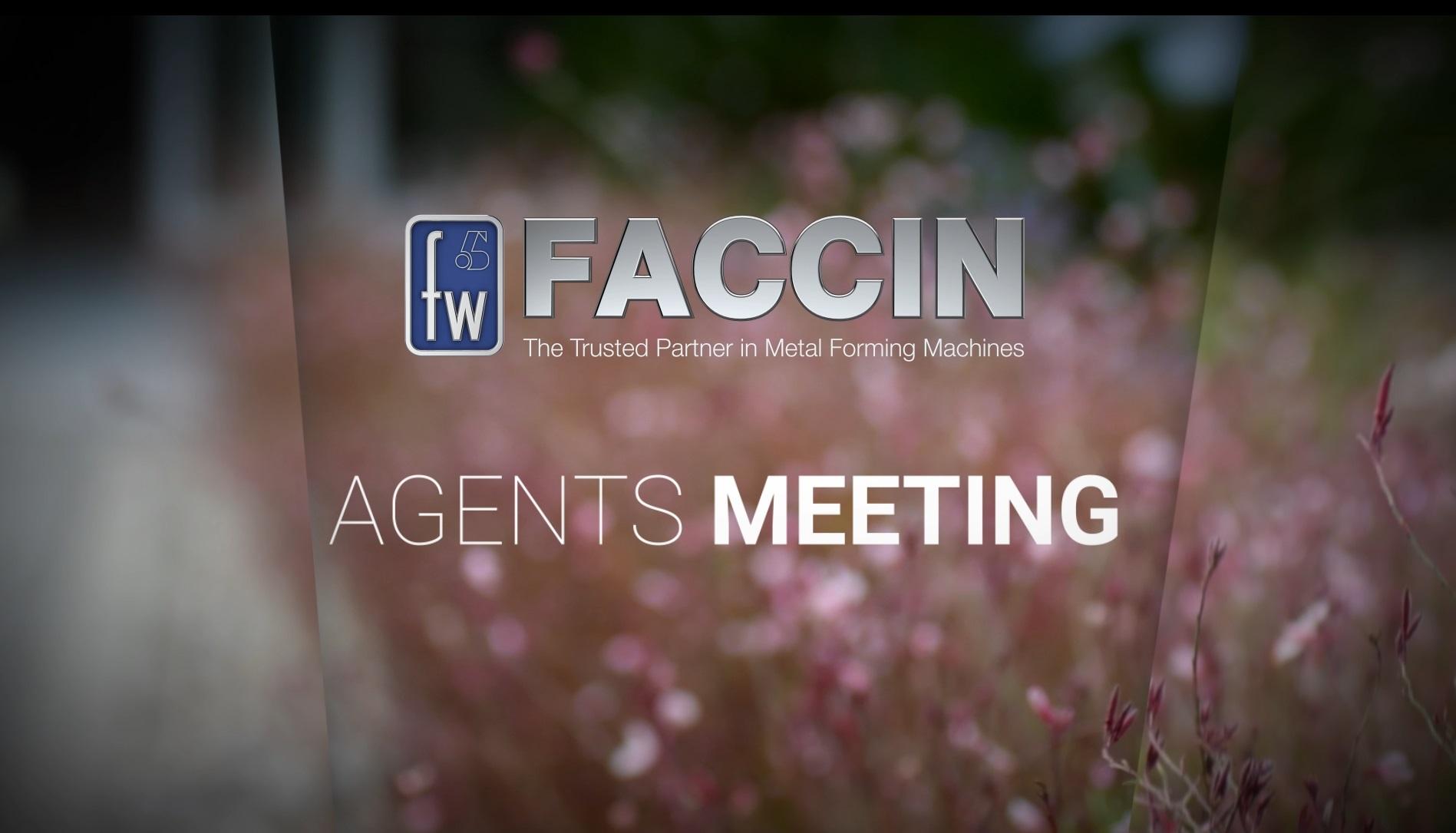 Faccin International Agents Meeting 2017