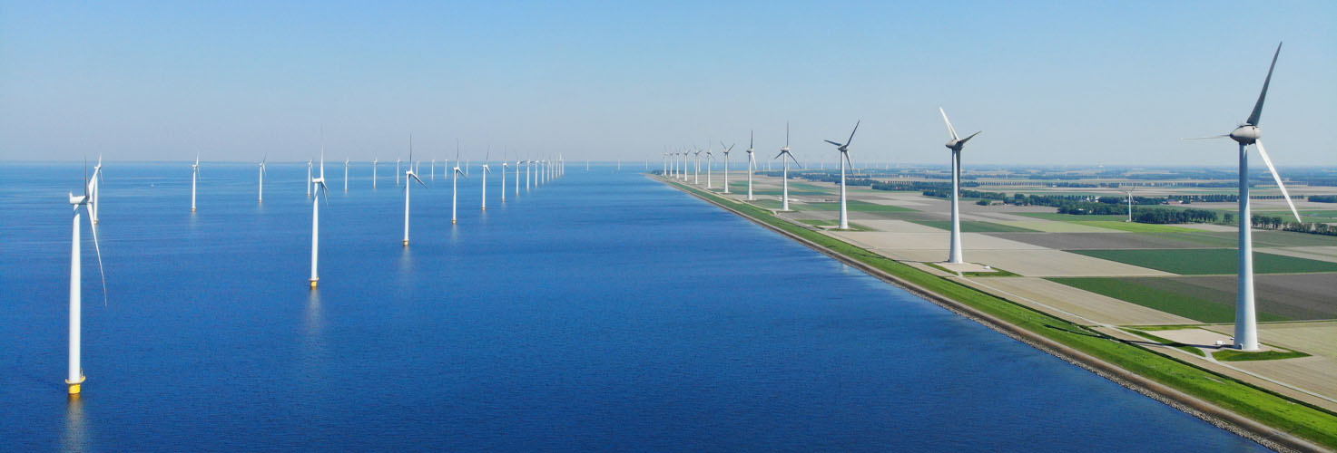 Faccin: onshore and offshore wind farm for green energy production