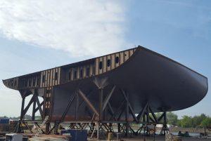 Faccin Montex Frame Bender Shipyard Industry