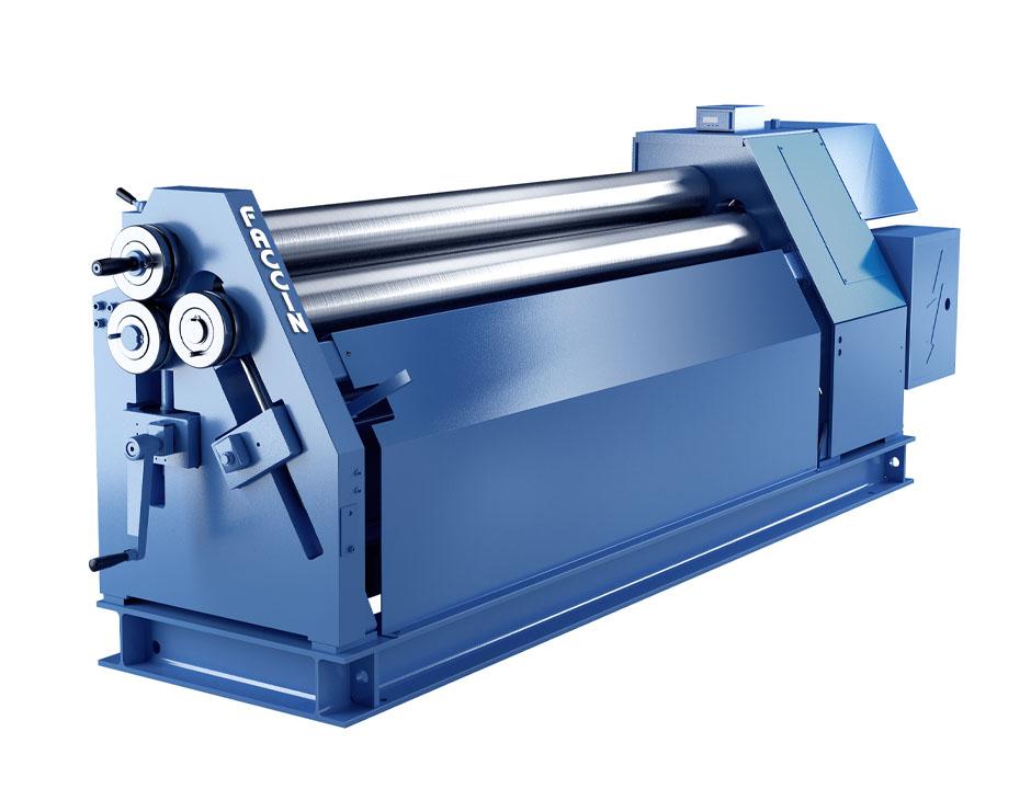 Faccin - 3 roll plate bending machine - Initial Pinch Plate Roll ASI