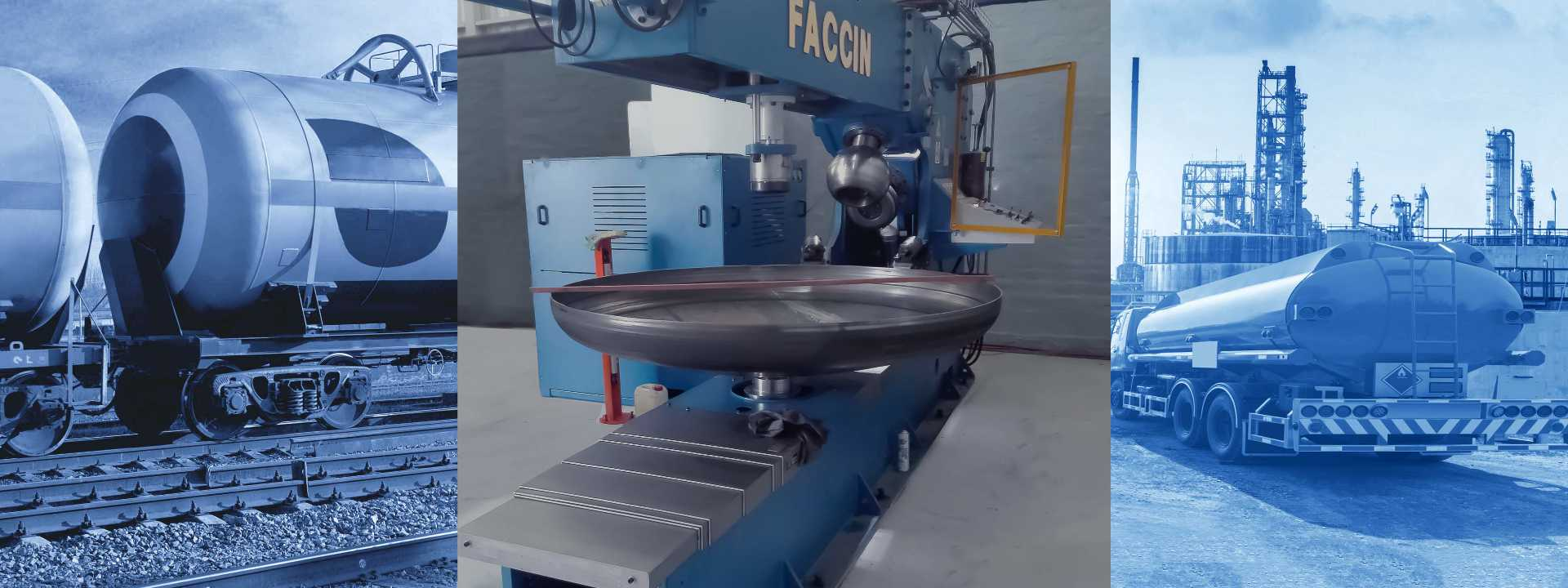 Faccin special machines for metal forming