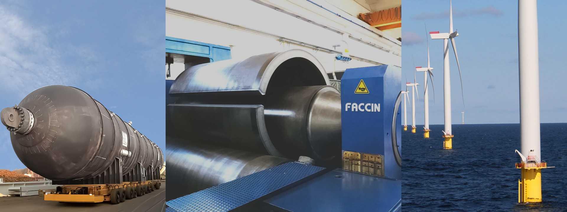 Plate Rolling Machines Faccin
